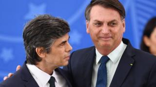 Nelson Teich and Bolsonaro