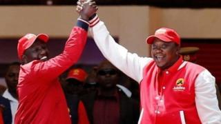 Uhuru Kenyatta na William Ruto