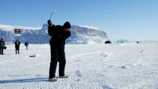 Гренландия гольф боюнча чемпионат өткөрөт