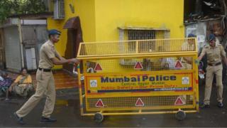 File photo of Mumbai police officers