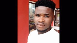 Daniel Joseph Okechkwu - the man Panorama reveals is pretending to be Paul Richard.