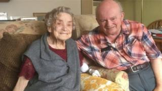 100 years old bride-to-be