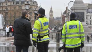 Met Police officers generic