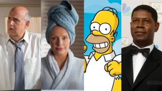 Jeffrey Tambor, Bryce Dallas Howard, Homer Simpson ve Dennis Haysbert