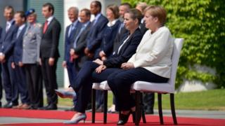 Меркель менен Фредриксен