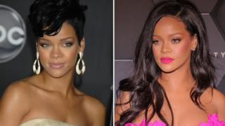 Rihanna 10 years ago verses now