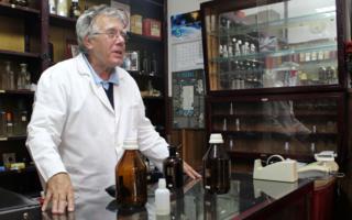 Nenad at his perfume shop