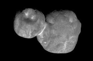 Imagen de Ultima Thule captada por New Horizons