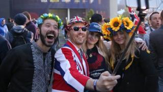 """""""Євробачення"""" зібрало у Києві фанів з багатьох європейських країн"""