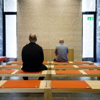 Prayer room in Halden prison