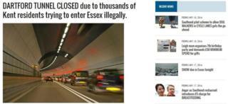 Southend News Network website