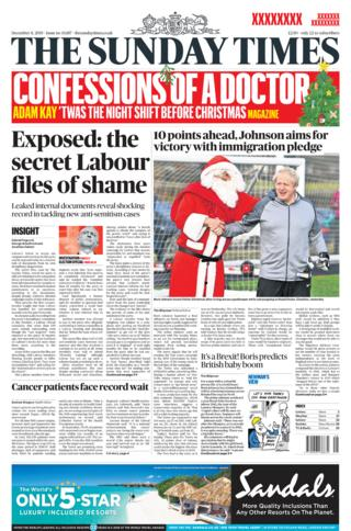 Sunday Times 8 December 2019