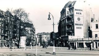 Улица Heussweg в центре Гамбурга до бомбардировок