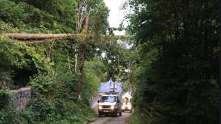 Engineers working to restore power
