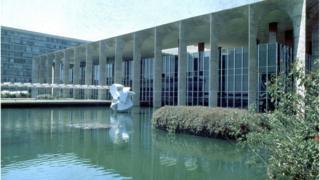 Palácio do Itamaraty, em Brasília