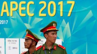 Công an Việt Nam bảo vệ an ninh cho APEC 2017 ở Đà Nẵng