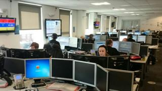 Call handling centre in Wakefield