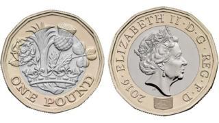 新版一英鎊硬幣