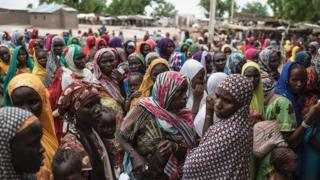 Women for IDP camp