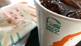 Taco Bell cup