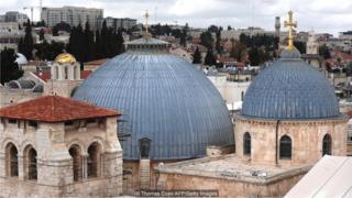gereja, yerusalem