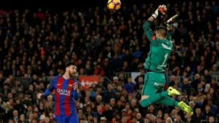 Lionel Messi lokacin da ya ci kwallon farko