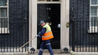 sweeper outside number 10
