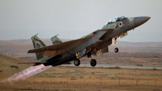 """Израильский самолет """"Ф-16"""""""