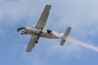 The RAF Falcons Parachute Display Team