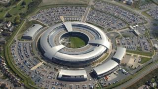 Aerial shot of GCHQ from 2014