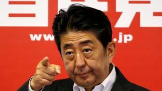 Shinzo Abe - file photo