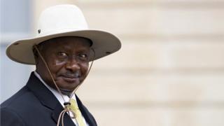 Yoweri Musavani madaxweynaha Uganda