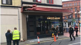 Caffè Nero damage