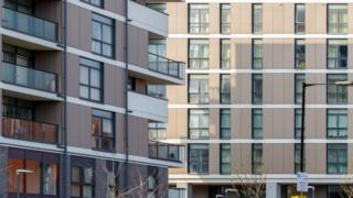 New build flats in east London