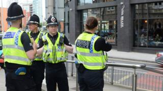 Police in Cardiff city centre