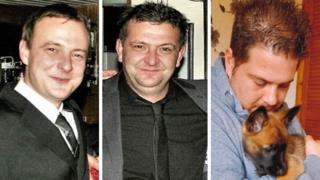Jason Gibson, Danny Gibson and Richard Booth.
