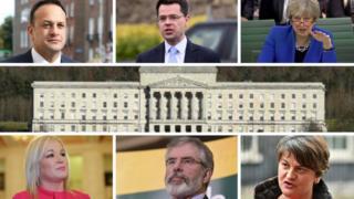 A-Z NI political year collage