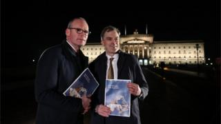 Simon Coveney said NI politicians need to 'step up and fully represent their citizens'