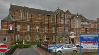 Royal Hampshire County Hospital, Winchester