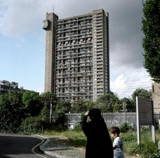 A view of Trellick Tower