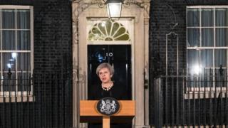 Theresa May, London, Inggris