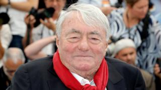 Director Claude Lanzmann at the Cannes Film Festival 21 May 2017