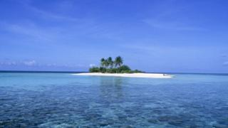 File photo: The island of Dunikolu in the Republic of Maldives in the Indian Ocean. 2010