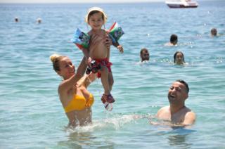 Antalya sıcak