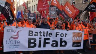 BiFab workers