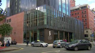 The Grand Central Hotel in Belfast