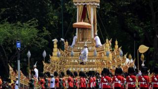 The royal chariot