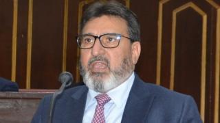 जम्मू कश्मीर के शिक्षा मंत्री सईद अल्ताफ़ बुखारी
