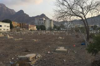 The Maala cemetery in Yemen is full of broken and dilapidated stones