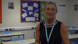 science Rachel Hutchinson, principal of Ivybridge Community College